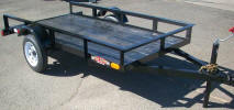 "4' x 8' Light Weight Utility Trailer Built with Standard Features and 10"" Rail"