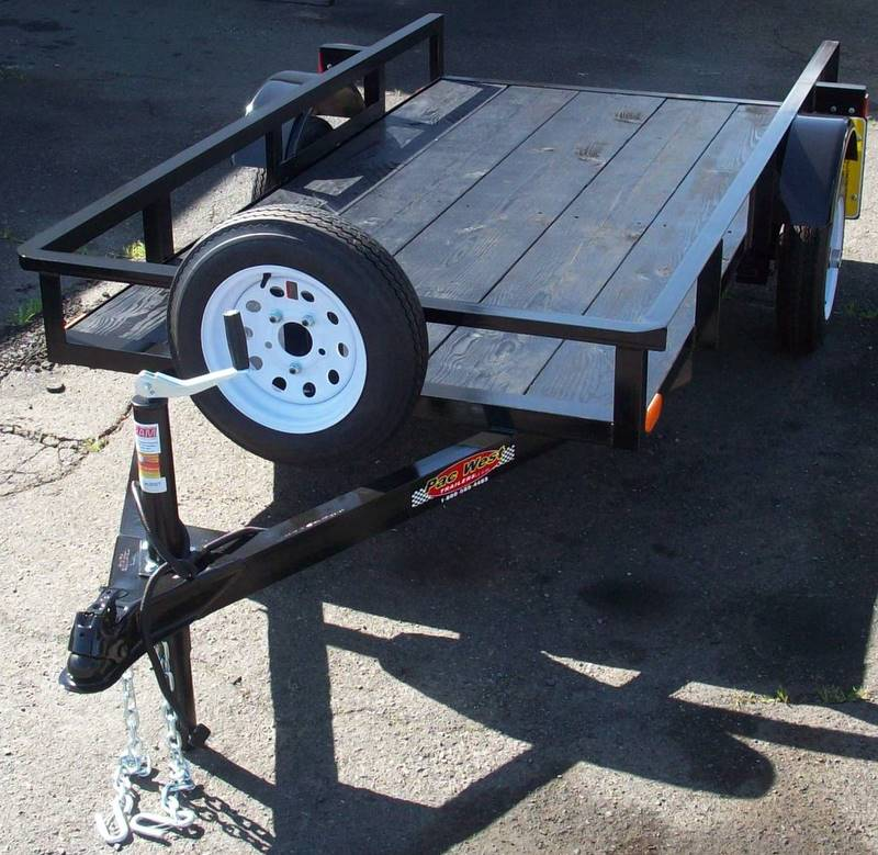 Gallery: Light Weight Utility Trailers | Pac West Trailers