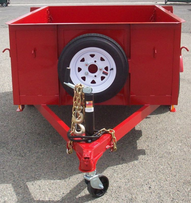Single Axle Tires : Gallery light weight utility trailers pac west