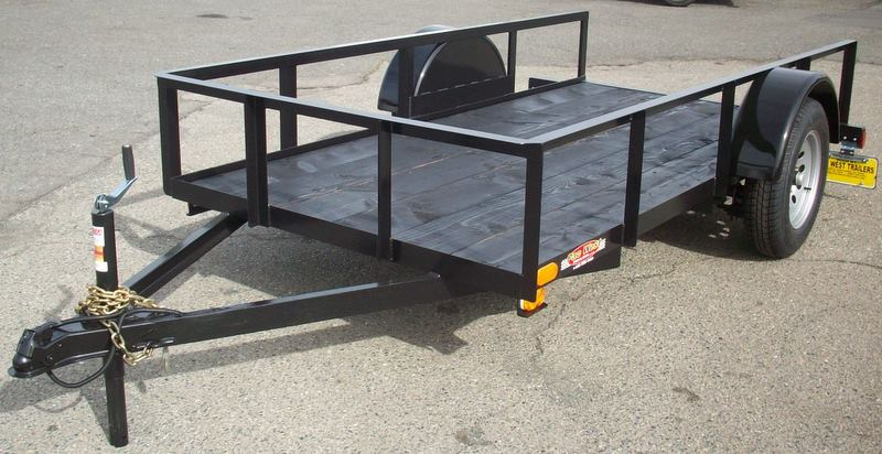 Single Axle Utility Trailers | Pac West Trailers