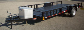 "77"" x 15' Custom Side Loader Trailer Built by Pac West 2,990lb GVWR, Two Additional"