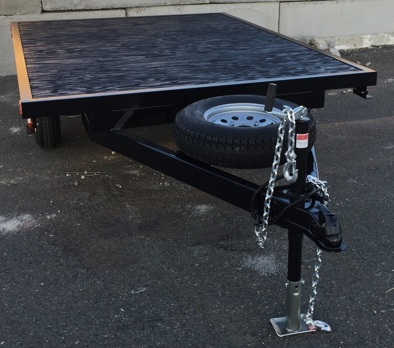 Aluminum Trailer Ramps >> Gallery: Flatbed Trailers | Pac West Trailers