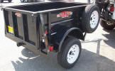 4' x 6' 2,990lb GVWR Custom Jeep Trailer May be Shown with Upgrade Options