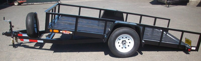 82 x 12 custom tilt bed trailer with 5200lb