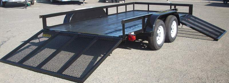 Aluminum Atv Ramps >> Gallery: All Terrain Vehicle (ATV) Tandem Axle Trailers ...