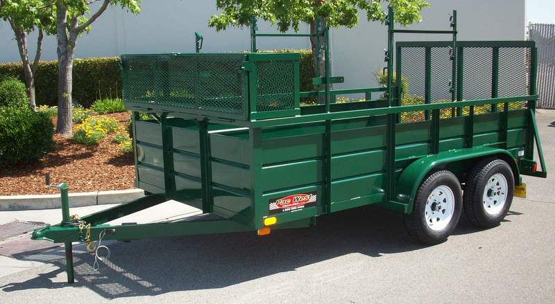 77 X 12 7 000lb Gvwr Custom Landscape Trailer Shown With Upgrade Options