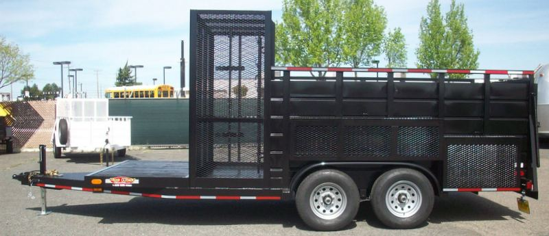 Trailer Fender Boxes : Gallery landscape tandem axle trailers pac west