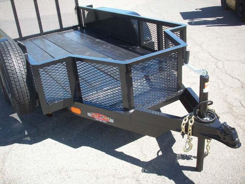 Wheel Trailer Axles : Gallery standard utility tandem axle trailers pac west