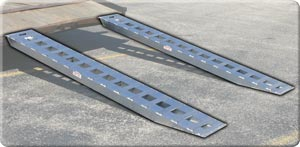 Lightweight 5,000lb Per Axle Rate Capacity Ramps