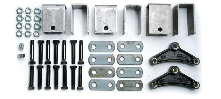Trailer axle suspension parts pac west trailers