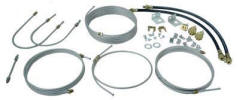 Brake Line 94in Tandem Kit, 193x94in, Long 3/16in Fitting Dia