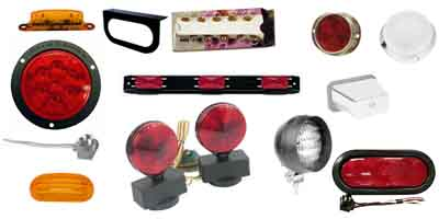 Trailer Lighting: Reflectors, Stop, Turn, Tail, Clearance and Side Marker Lights