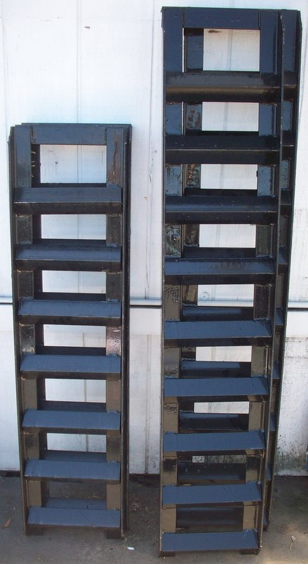steel ramps for loading and unloading pac west trailers