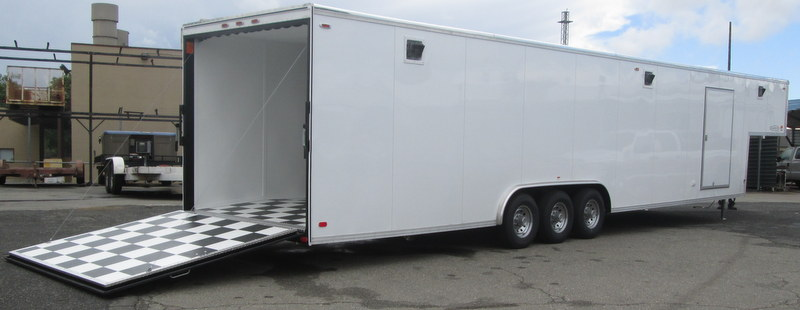 Gallery Carson Deluxe Racer Enclosed Trailers Pac West
