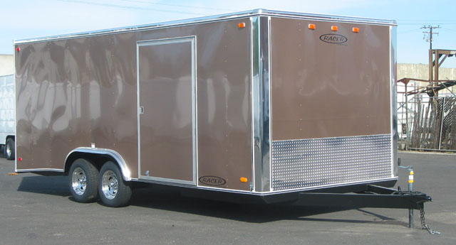 Carson Enclosed Cargo Trailers Pac West Trailers