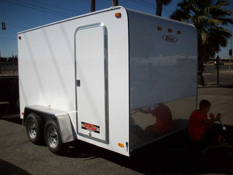 car water jug gallery carson 6 and 7 standard enclosed cargo trailers pac