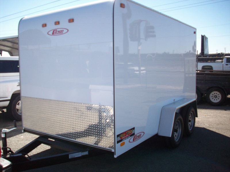 Gallery: Carson 6' and 7' Standard Enclosed Cargo Trailers