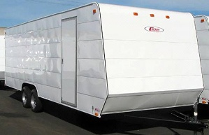 Gallery: Carson 8' Standard Enclosed Cargo Trailers | Pac West Trailers