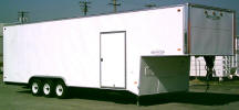 Carson Standard Racer trailer 5th Shown with Upgrade Options
