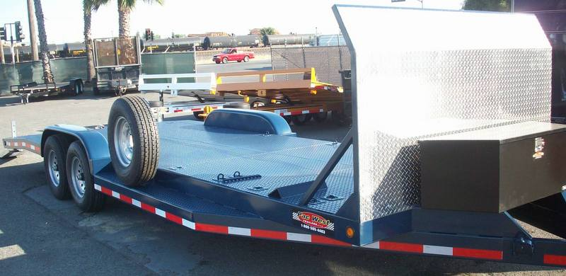 Gallery Deluxe Car Hauler Trailers Pac West Trailers
