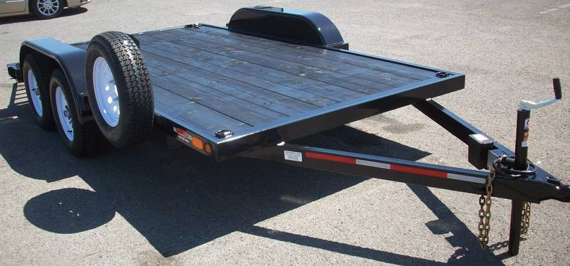 Open Hauler Trailers Pac West Trailers