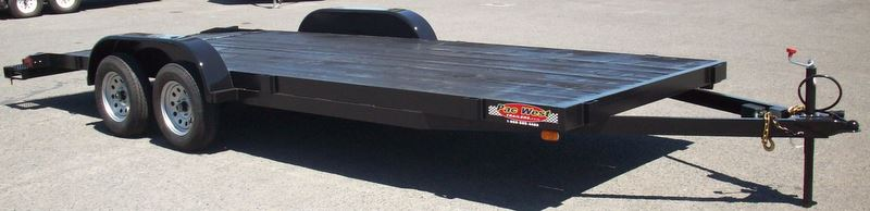 Open hauler trailers pac west trailers 82 x 20 custom standard car hauler built with 7000lb gvwr one malvernweather Images